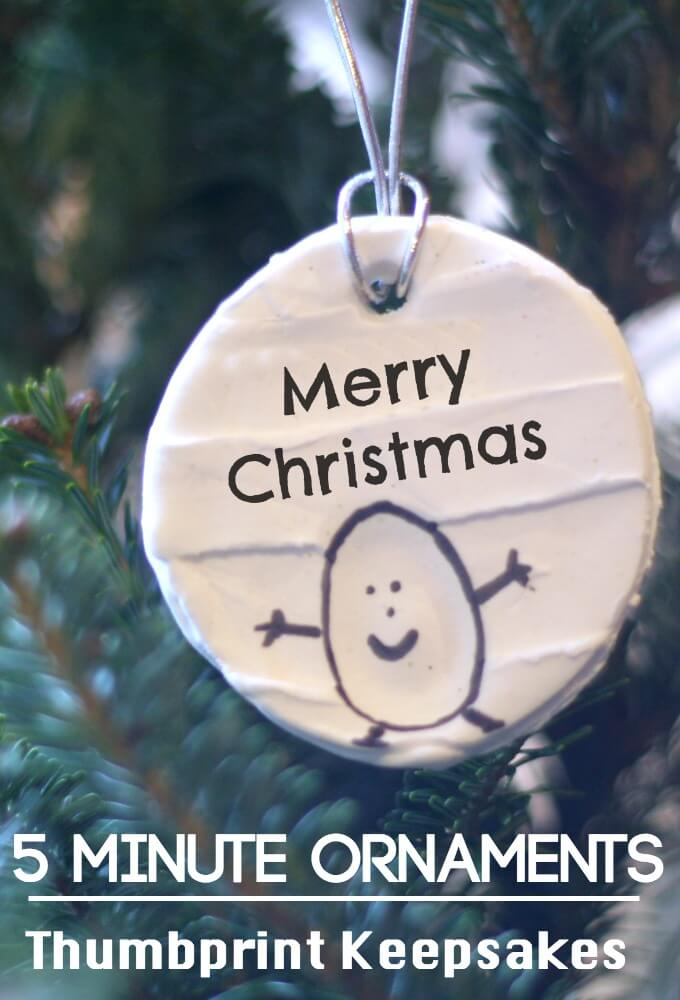 5 minute ornaments