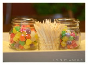Building Structures with Candy Gumdrops