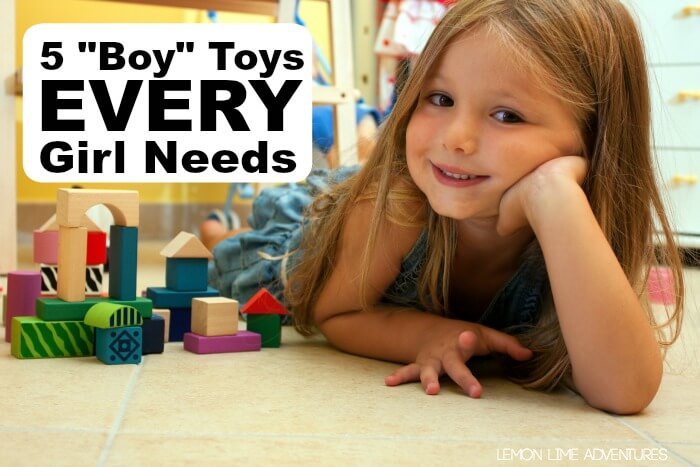 Top Boy Toys for Girls