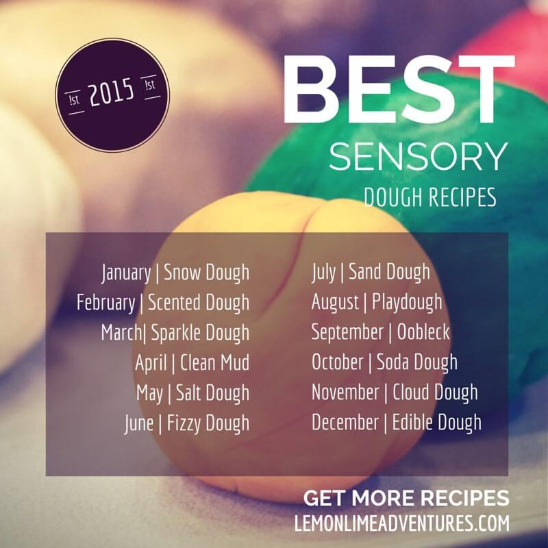 12 Months Sensory Dough