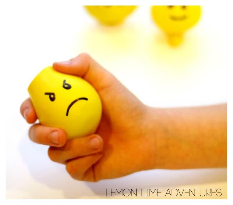 Lego Calm Down Sensory Balls