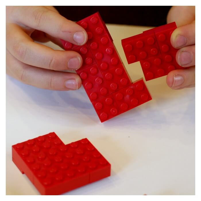 Lego Valentines Day Hearts