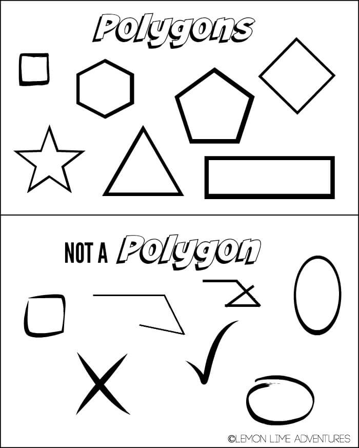 Polygon vs nonpolygon