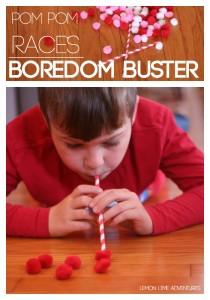 Pom Pom Races | An Excellent Boredom Buster for older kids