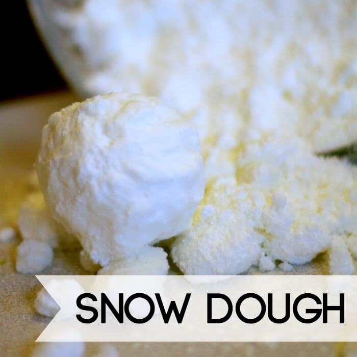 The Best Snow Dough Recipes