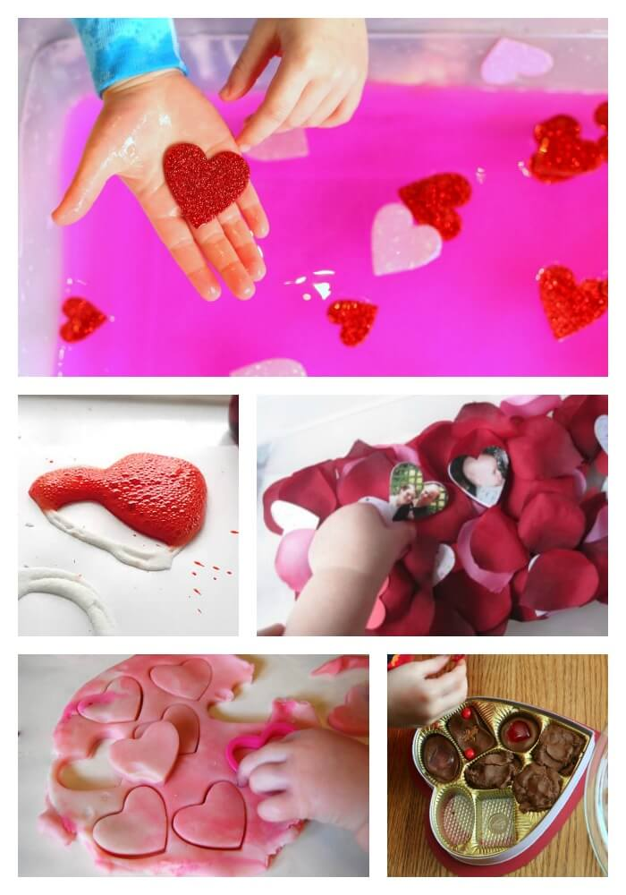 Toddler Valentine's Day Activities