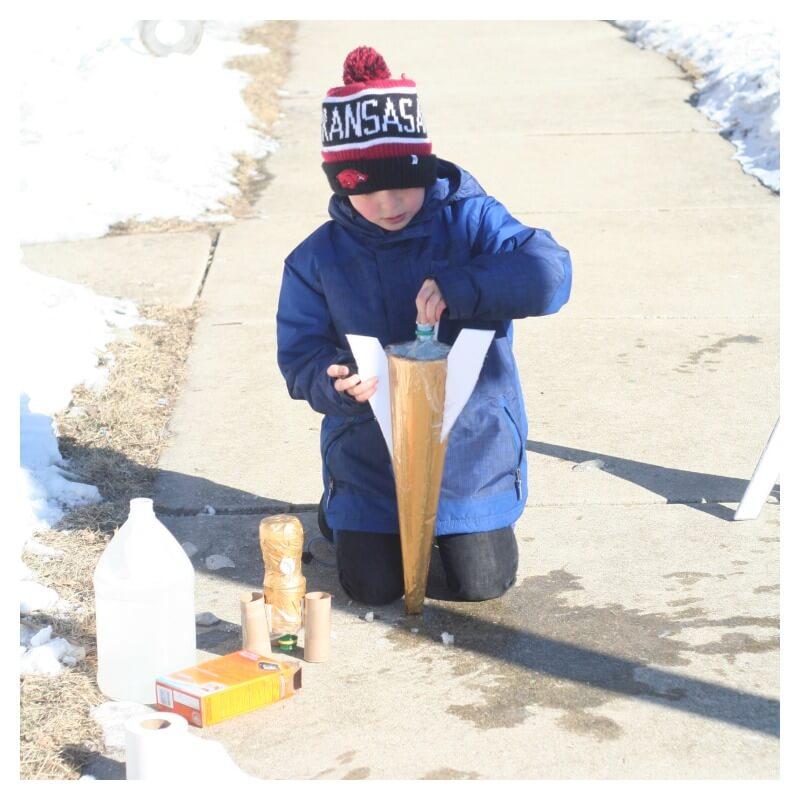 Engineering For Kids Diy Soda Rockets