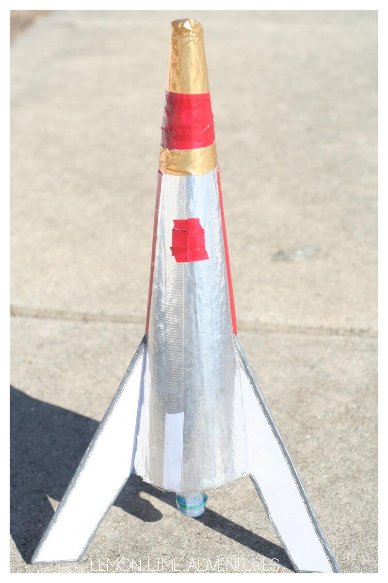 Engineering a Kids Soda Rocket