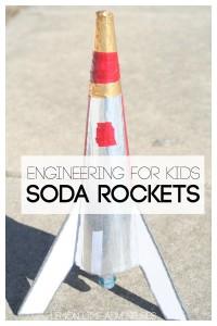 Engineering for Kids Baking Soda Rockets