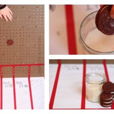 Featured Play with Oreo DIY Plinko