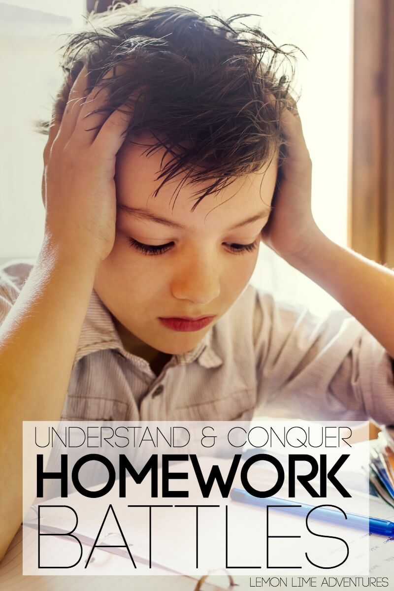 Understand and Conquer Homework Battles Once and For All