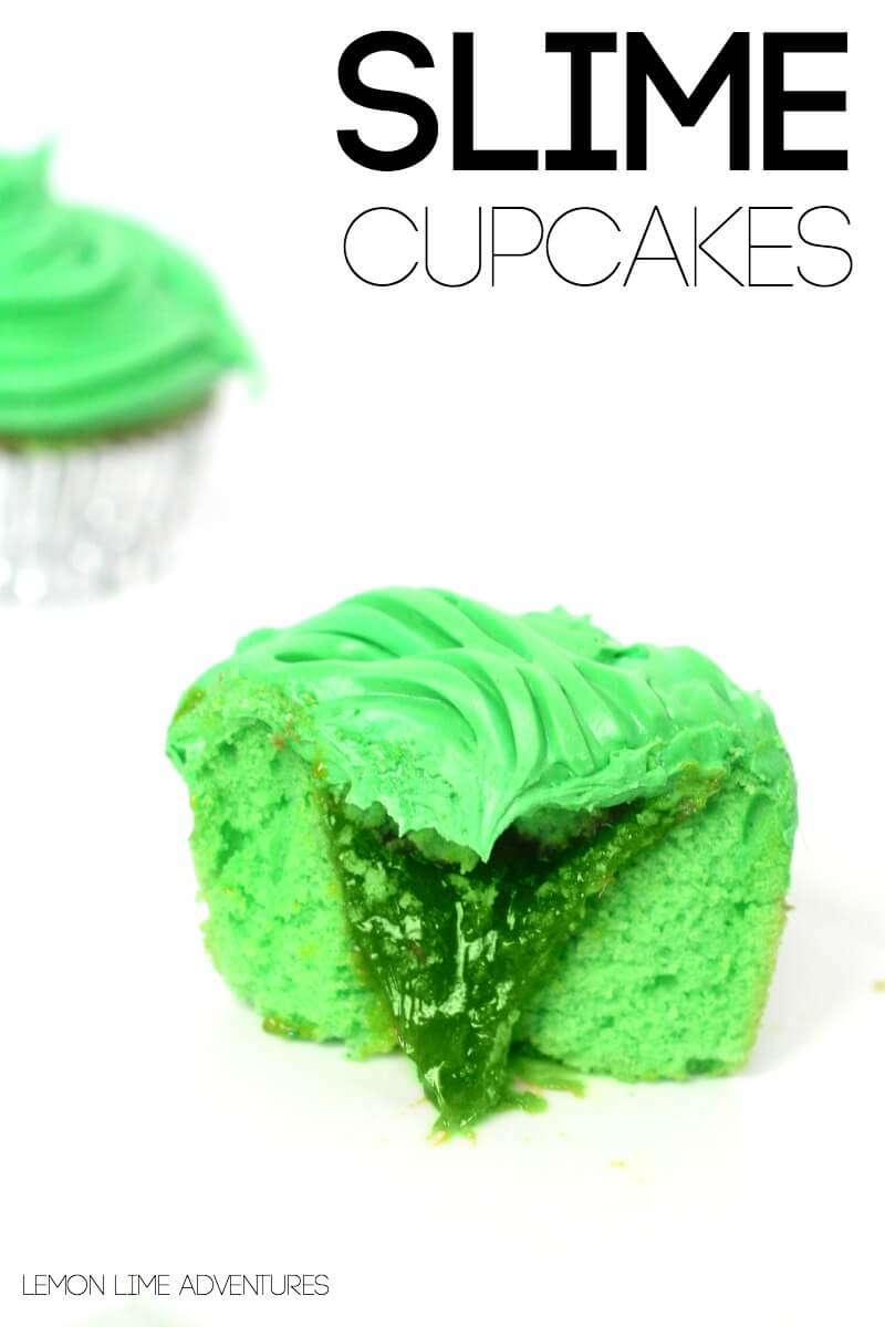 Delicious Slime Cupcakes