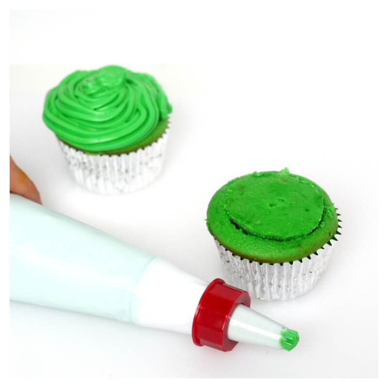 Filled Slime Cupcakes