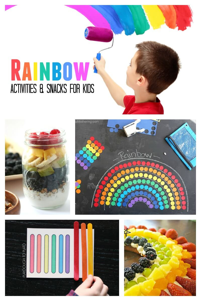 Rainbow Activities and Snacks