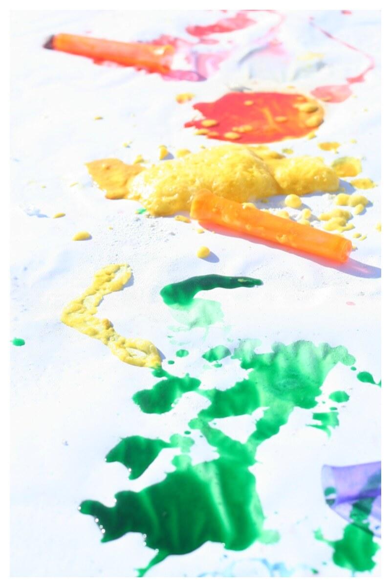 Rainbow Reactions Art