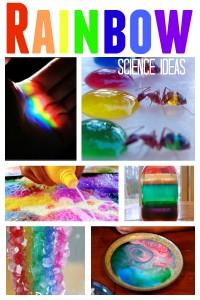 Rainbow Science Ideas
