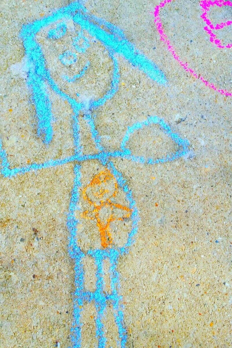 Sidewalk Chalk #redefineyourstory