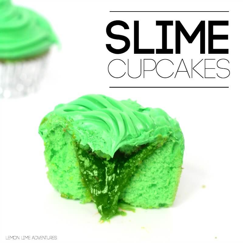 Slime Cupcakes Square Image