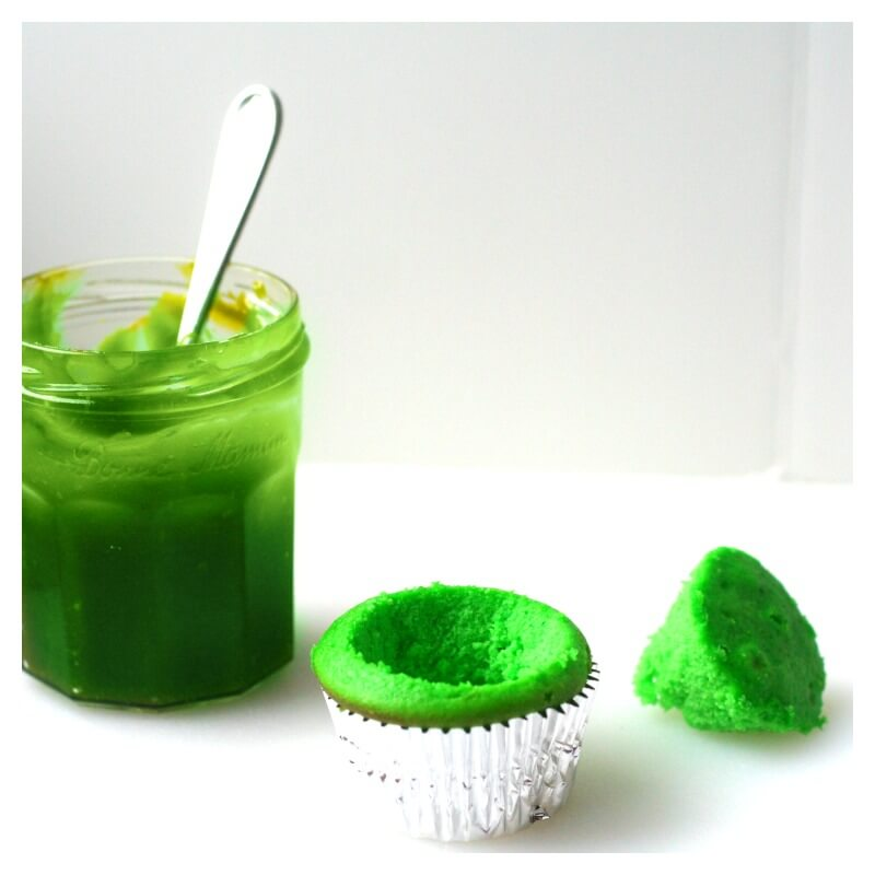 Slime Cupcakes with Ooze