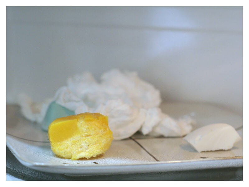 What happens to Soap in the Microwave