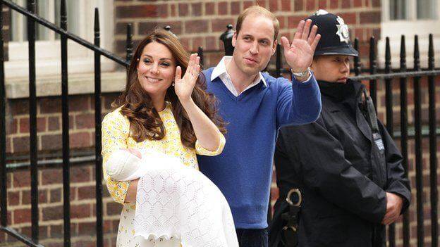 Kate Middleton Day after Giving Birth