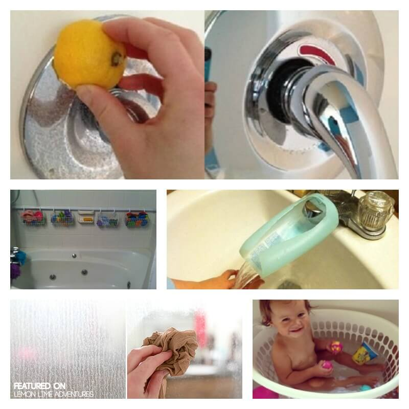 Bath Time Hacks