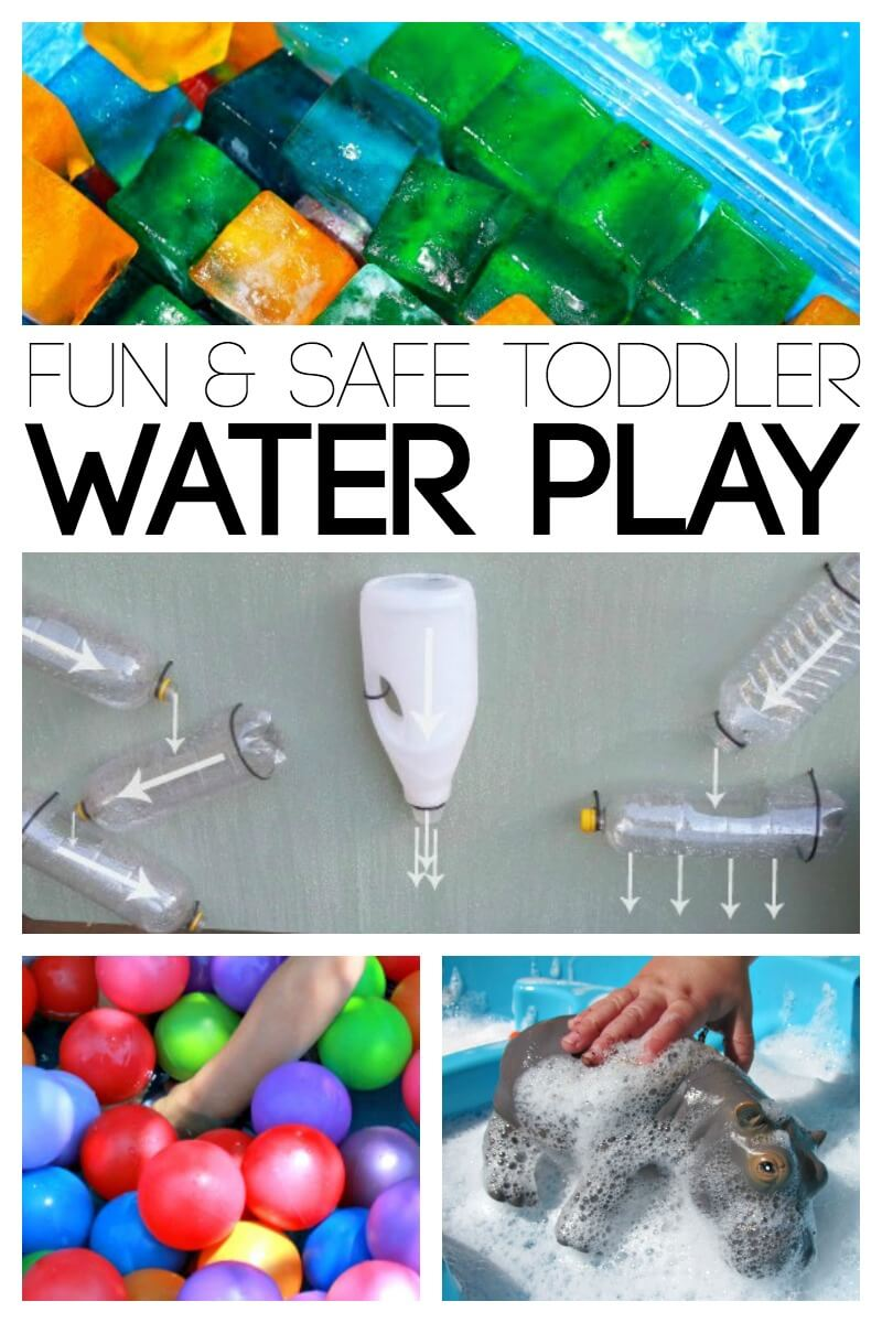 Fun and Safe Toddler Water Play