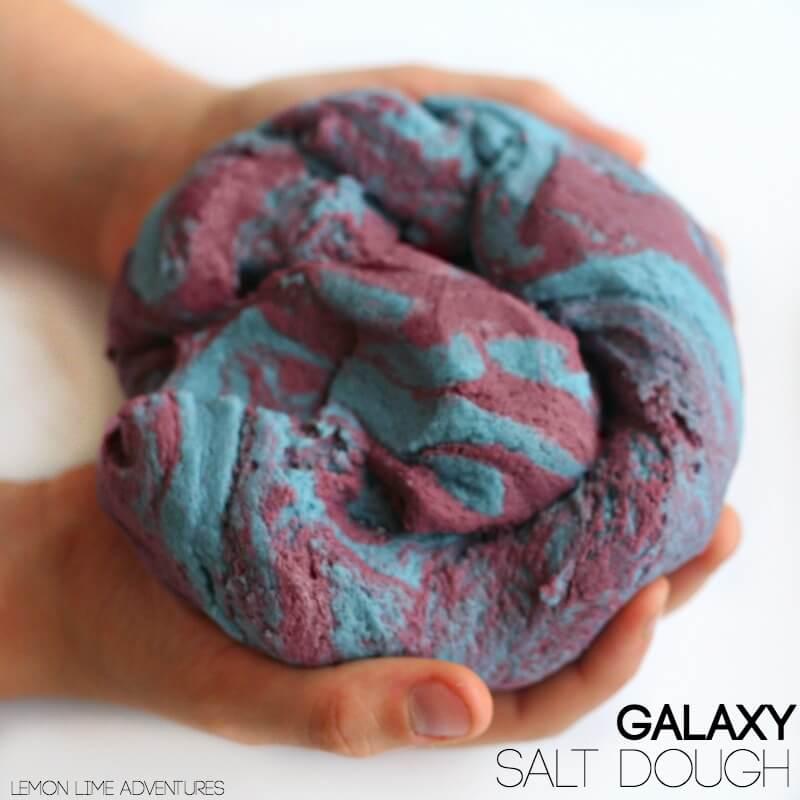 Galaxy Salt Dough Swirled