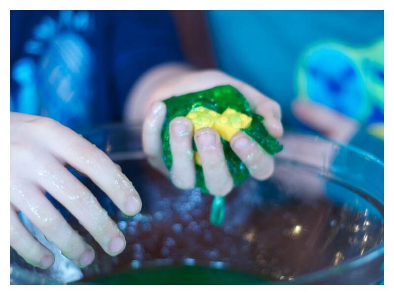 Lego Sensory Play Ideas