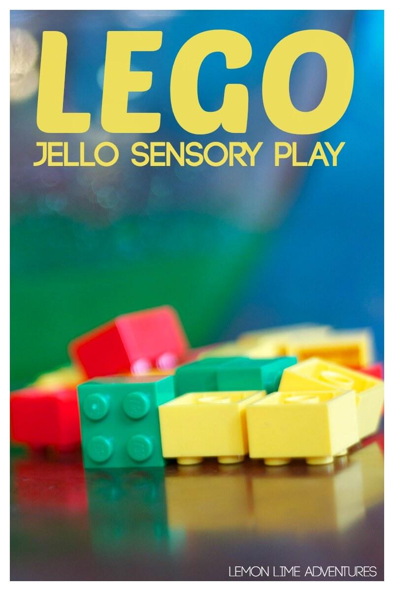 Lego Sensory play