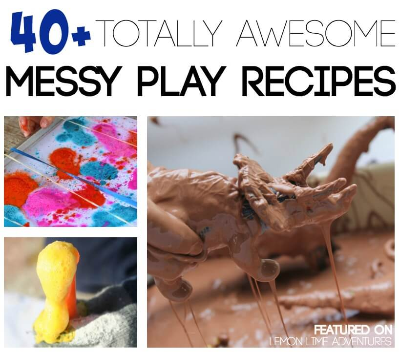 Messy Play Recipes