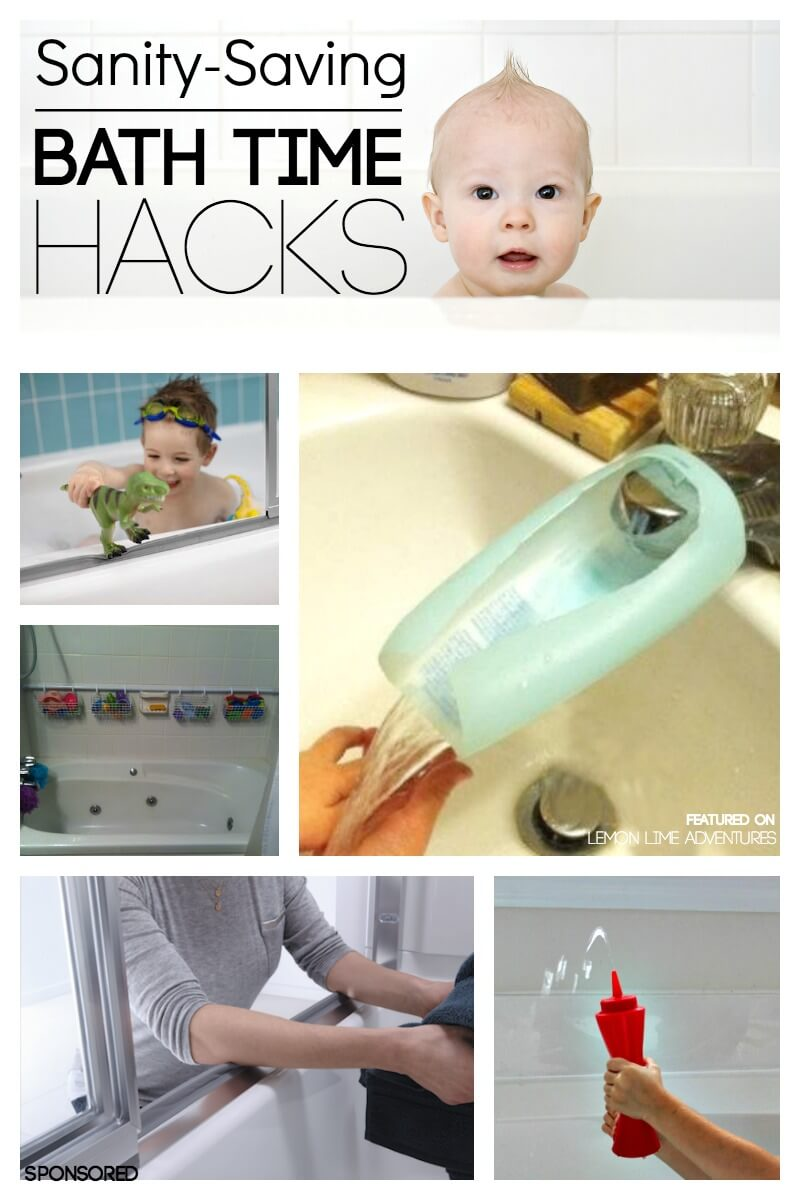 Sanity Saving Bath Time Hacks