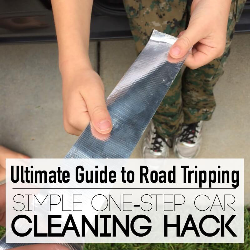 Simple one Step Cleaning Hack for the Car
