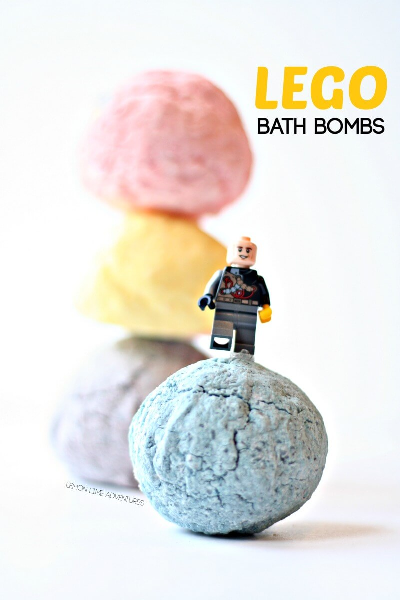 Surprise Lego Bath Bombs