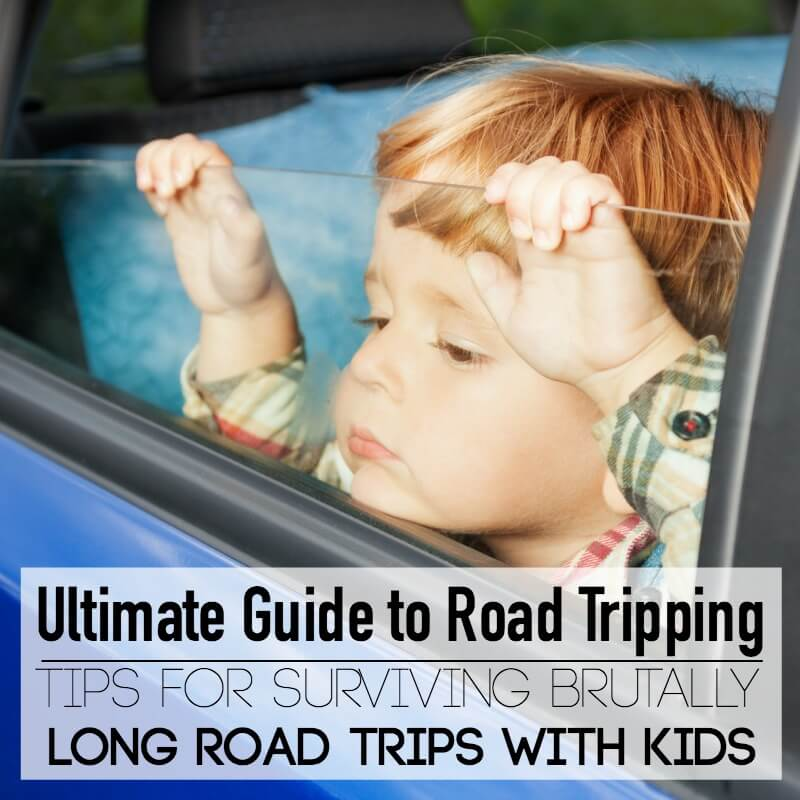 Tips for surviving Brutally long road trips with kids