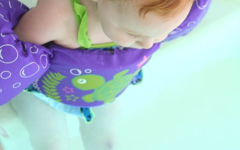 Toddler Water play Puddle Jumper