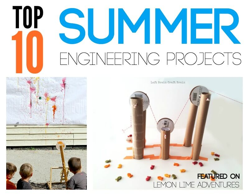 Top Summer Enginneering Projects for Kids