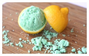 Lemon Lime Fizzy Dough