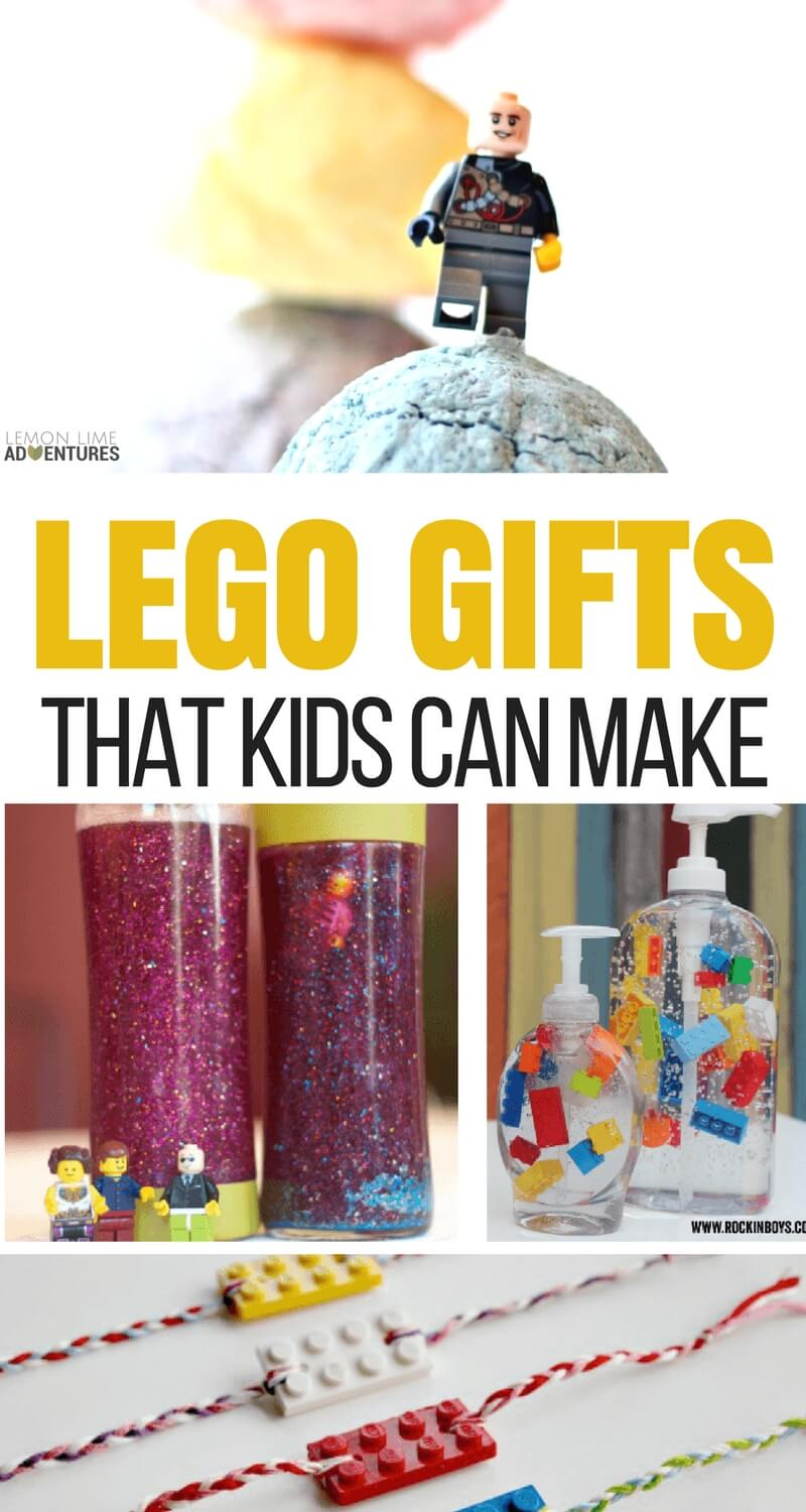 LEGO GIFTS KIDS CAN MAKE