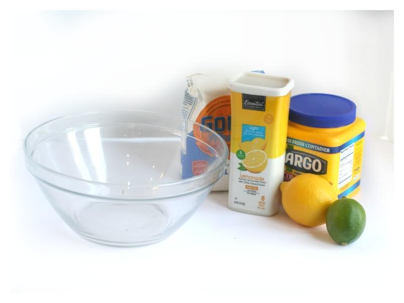 Lemon Lime Fizzing Dough Recipe