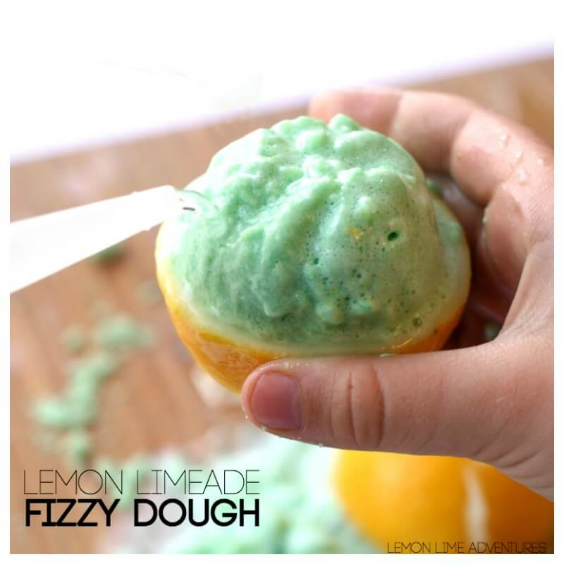 Lemon Limeade Fizzy Dough