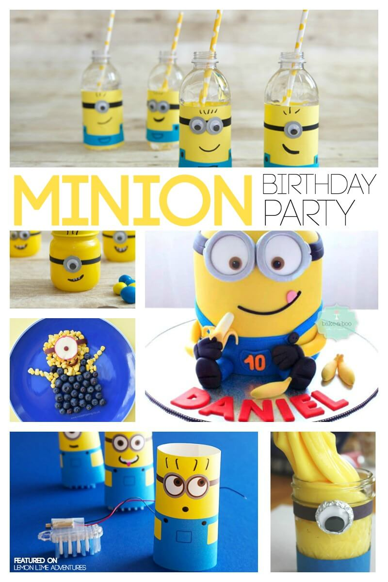 Minion Birthday Party Planning Ideas