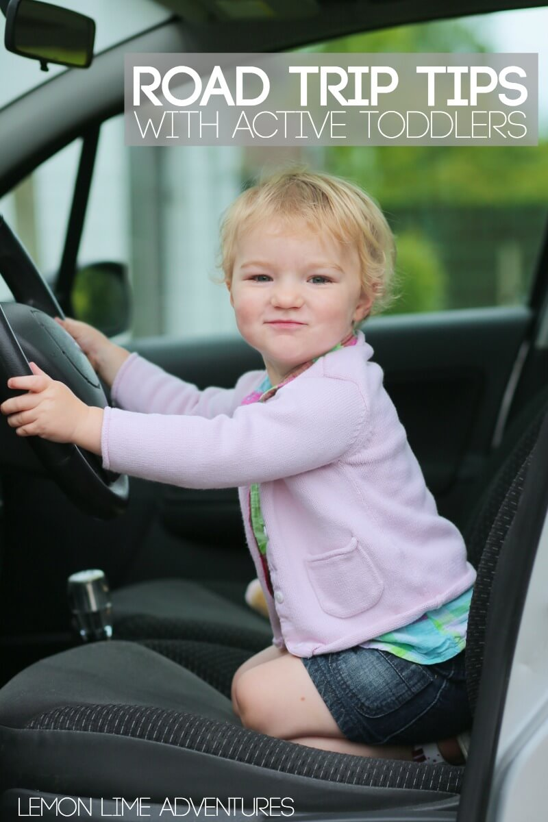 Road Trip Tips with Active Toddlers