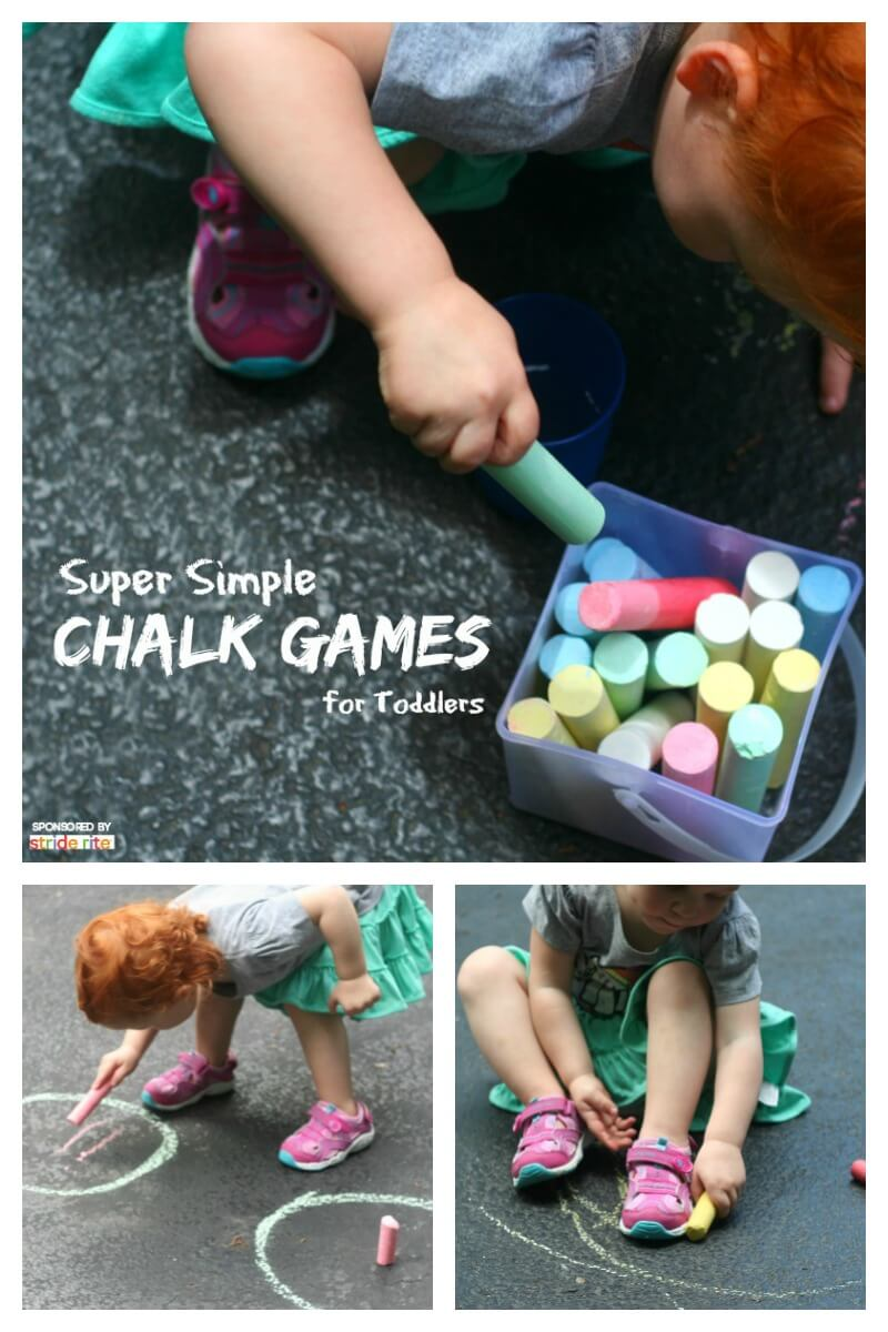 Super Simple Chalk Games