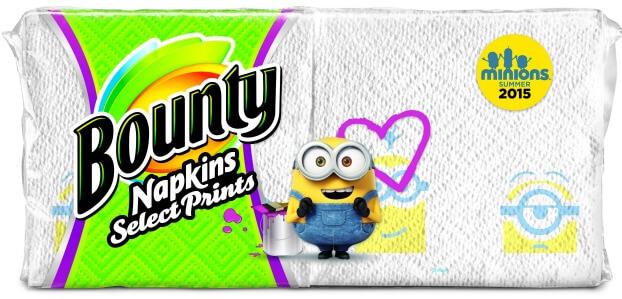 Minion Print napkins
