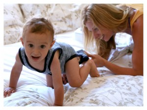 Tips for Leaving Your Baby for the First Time & Free Babysitter Printable