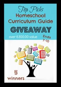 Huge Homeschool Curriculum Giveaway Valued Over $6,300