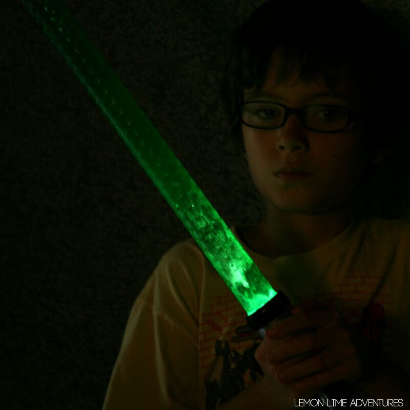 DIY Light-up Lightsabers