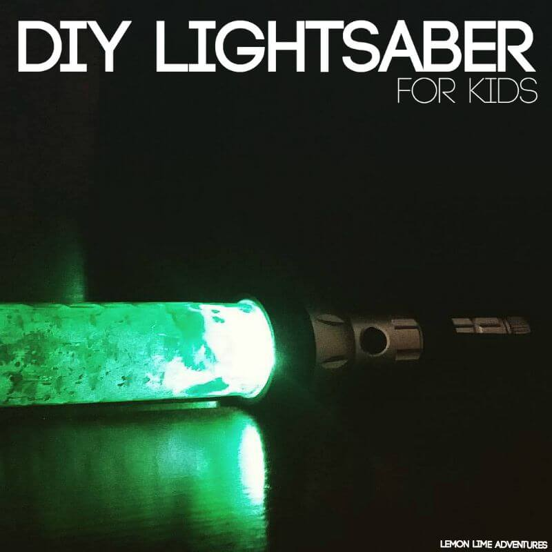 DIY Lightsaber Toy