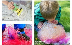 20 Epic Outside Messy Play Ideas